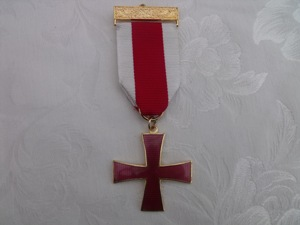 Knights Templar Breast Jewel